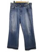 MARC JACOBS(マークジェイコブス)の古着「ワイドデニムパンツ パンツ」 インディゴ