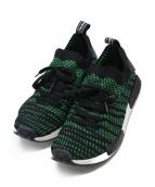 adidas(アディダス)の古着「NMD R1 STLT スニーカー」 グリーン
