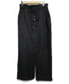 Hysteric Glamour(ヒステリックグラマー)の古着「Sデニムロングタイトスカート スカート」 ブラック
