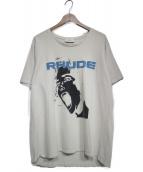 RHUDE(ルード)の古着「半袖カットソー」|アイボリー