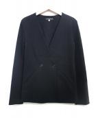 ESTNATION(エストネーション)の古着「ノーカラージャケット」|ブラック