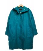 GOUT COMMUN(グーコミューン)の古着「フランダースリネンコート コート」|グリーン