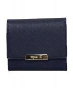 agnes b(アニエスベー)の古着「ミニウォレット 財布」|ネイビー