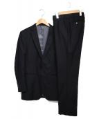 BLACK LABEL CRESTBRIDGE(ブラックレーベルクレストブリッジ)の古着「3ピーススーツ  スーツ」|ブラック