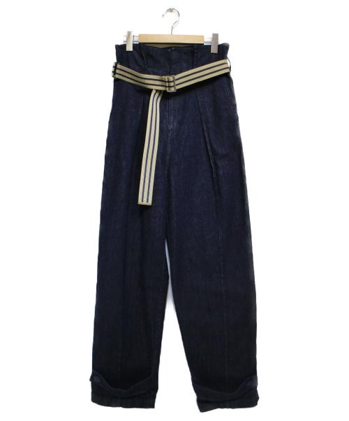 ADORE(アドーア)ADORE (アドーア) ヴァークデニム ブルー サイズ:38の古着・服飾アイテム