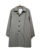 ROSSO(ロッソ)の古着「タイプライターコート コート」|グレー