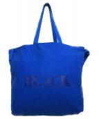 BURBERRY BLACK LABEL(バーバリーブラックレーベル)の古着「トートバッグ バッグ」|ブルー