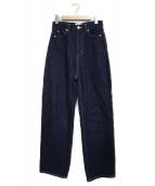 SERGE de bleu(サージ)の古着「デニムパンツ パンツ」|ネイビー