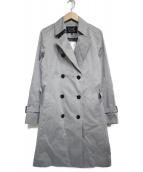 COUP DE CHANCE(クードシャンス)の古着「ライナー付トレンチコート コート」|グレー