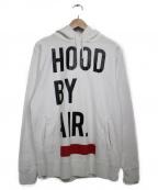 Hood By Air(フッドバイエアー)の古着「プルオーバーパーカー」 ホワイト