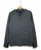 OURET(オーレット)の古着「ノーカラージャケット ジャケット」|グレー
