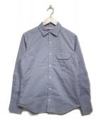 THE NORTH FACE PURPLE LABEL(ザノースフェイス パープルレーベル)の古着「Stretch OX Shirt」 ブルー