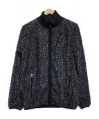 Needles Sportswear(ニードルズスポーツウェア)の古着「Micro Fleece Piping Jacket 」|グレー
