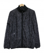 Needles sportswear(ニードルズスポーツウェア)の古着「Micro Fleece Piping Jacket 」 グレー