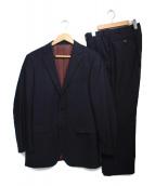 BURBERRY BLACK LABEL(バーバリーブラックレーベル)の古着「2Bスーツ スーツ」|ネイビー