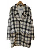 Viaggio Blu(ヴィアッジョブル)の古着「ウールコート」|アイボリー