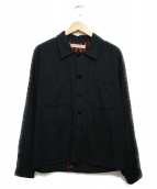 EMiLiANO RiNALDi(エミリアーノリナルディ)の古着「カバーオール ジャケット」 ブラック