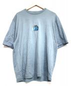 dunhill(ダンヒル)の古着「アクアリウムライダーブルーバードTシャツ」|ブルー