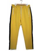 DIESEL(ディーゼル)の古着「トラックパンツ  パンツ」|イエロー