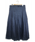 ELIN(エリン)の古着「プリーツスカート スカート」|ネイビー