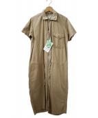 FWk Engineered Garments(エフダブリューケーエンジニアードガーメンツ)の古着「COMB SUIT FRC-TW」|ベージュ