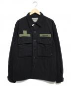Liberaiders(リベライダーズ)の古着「IDEOLOGIE BDU JACKET」 ブラック