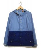 THE NORTH FACE PURPLE LABEL(ザノースフェイス パープルレーベル)の古着「65/35 2トーンマウンテンパーカー」|ブルー