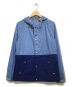 THE NORTH FACE PURPLE LABEL(ノースフェイスパープルレーベル)の古着「65/35 2トーンマウンテンパーカー」|ブルー