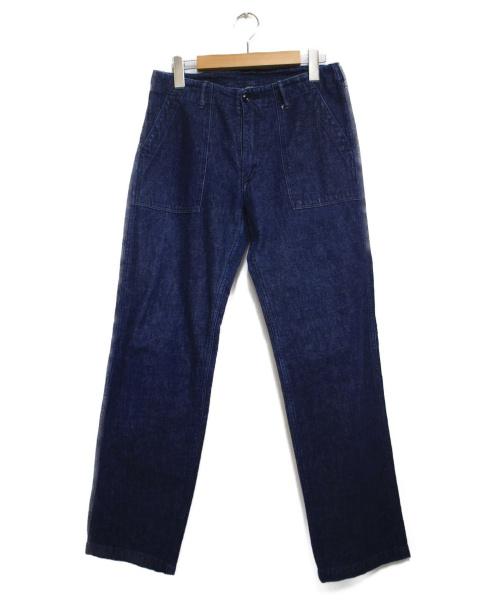 DANTON(ダントン)DANTON (ダントン) ファテイーグデニムパンツ インディゴ サイズ:36の古着・服飾アイテム