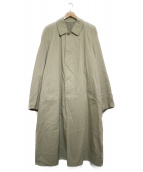 KENZO(ケンゾー)の古着「古着ステンカラーコート コート」|ベージュ