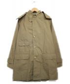 FWK Engineered Garments(エフダブリューケイ エンジニアードガーメンツ)の古着「フーデッドコート コート」|ベージュ
