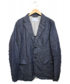 lideal(リデアル)の古着「リネンジャケット ジャケット」 グレー