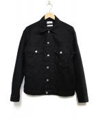 STUDIO SEVEN(スタジオ セブン)の古着「USED DENIM JACKET ジャケット」|ブラック