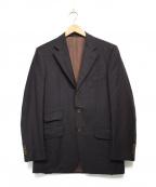 ISAIA(イザイア)の古着「テーラードジャケット」 ブラウン
