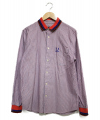RAF SIMONS(ラフシモンズ)の古着「チェックシャツ」|レッド