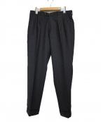 BERWICH(ベルウィッチ)の古着「2プリーツパンツ パンツ」|グレー