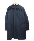 MR.GENTLEMAN(ミスタージェントルマン)の古着「フーデッドコート」 ネイビー