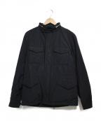 ROSSO()の古着「中綿入りM-65  ジャケット」 ブラック