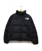 THE NORTH FACE(ザノースフェイス)の古着「Short Nuptse Jacket」|ブラック