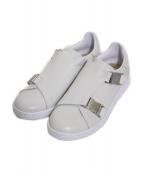 adidas(アディダス)の古着「Stan Smith Buckle」|ホワイト