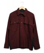 chimala(チマラ)の古着「ウールジャケット ジャケット」|レッド