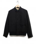 NEXUSVII(ネクサスセブン)の古着「WIND STOPPERリブジャケット ジャケット」|ブラック