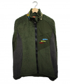 fin-ch(フィンチ)の古着「ボアジャケット  ジャケット」|グリーン