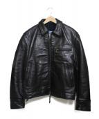 Aero LEATHER(エアロレザー)の古着「レザージャケット」|ブラック