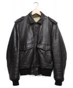 SCHOTT BROS.(ショットブロス)の古着「A-2ジャケット ジャケット」|ブラウン