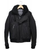 Dior Homme(ディオール オム)の古着「ジップアップブルゾン ブルゾン」|ブラック