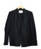 TOGA VIRILIS(トーガ ヴィリリース)の古着「ドッキングジャケット」 ブラック