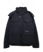 CANADA GOOSE(カナダグース)の古着「RUSSEL PARKA ジャケット」|ブラック