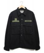 Liberaiders(リベライダーズ)の古着「IDEOLOGIE BDU JACKET ジャケット」|ブラック