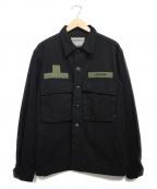 Liberaiders(リベライダーズ)の古着「IDEOLOGIE BDU JACKET ジャケット」 ブラック